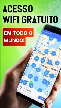 osmino WiFi gratuito: pontos de acesso, senhas Cartaz