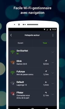 WiFi capture d'écran 4