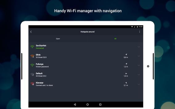 WiFi: passwords, hotspots screenshot 10