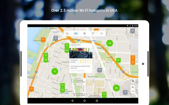 WiFi: passwords, hotspots screenshot 8