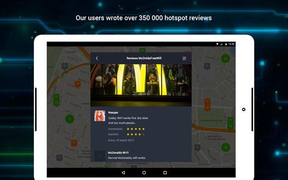WiFi: passwords, hotspots screenshot 9