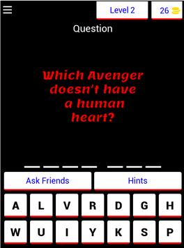 Marvel Quiz 2019 screenshot 16