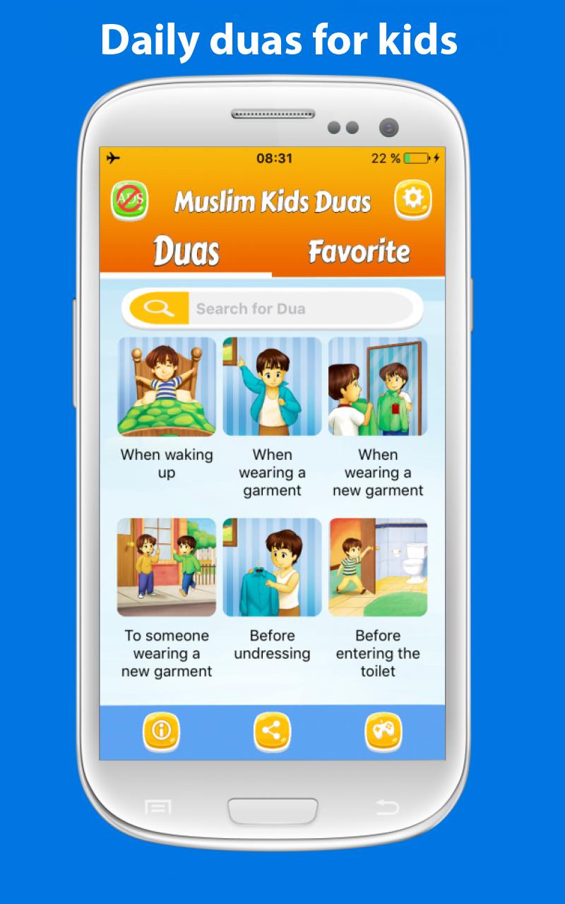 Daily duas for kids Muslim dua APK 20.20 Download for Android ...