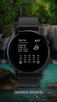 Watch Face Waterfall Wallpaper screenshot 1