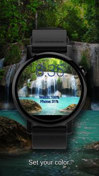 Watch Face Waterfall Wallpaper screenshot 4