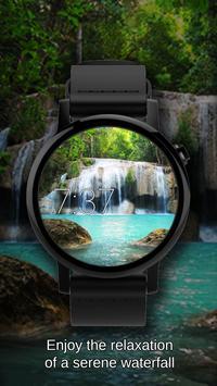 Watch Face Waterfall Wallpaper screenshot 6