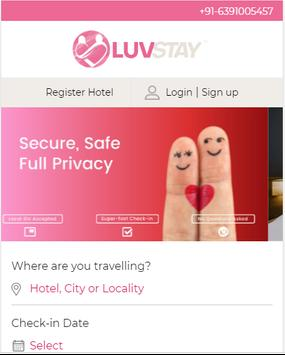 LuvStay - Hotel For Unmarried Couples In India poster