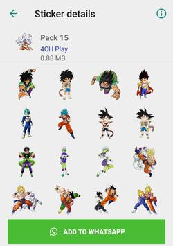 Dragon Ball Stickers Poster