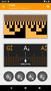 Guitar and Violin Tuner screenshot 1