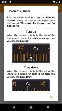 Guitar and Violin Tuner screenshot 5