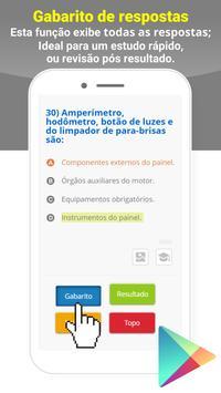 Simulado DETRAN Alvarenga MG CNH screenshot 4