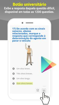 Simulado DETRAN Alvarenga MG CNH screenshot 2
