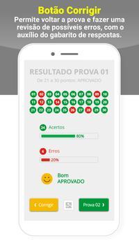 Simulado DETRAN Alvarenga MG CNH screenshot 3