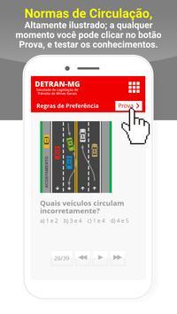 Simulado Detran Capim Branco MG screenshot 5