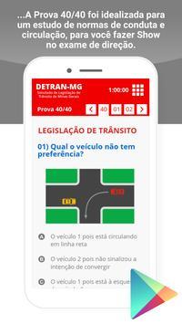 Simulado Detran Cataguarino MG screenshot 6