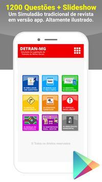 Simulado Detran Catiara MG poster