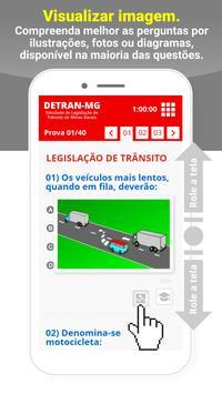 Simulado Detran Cisneiros MG screenshot 1