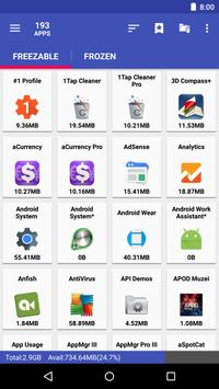 AppMgr III screenshot 2