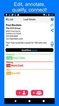1stSales Lead Retrieval : Badge scanner & Tracker screenshot 2