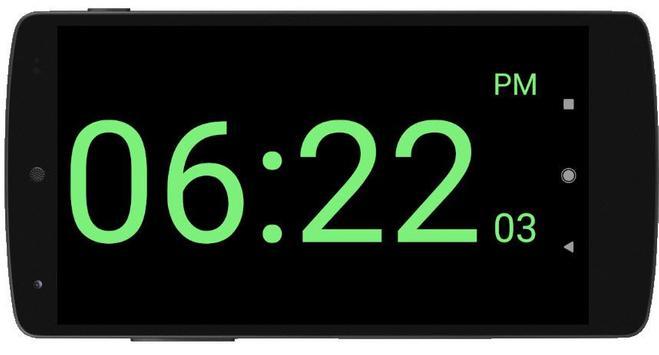 Full Screen Digital Night Clock screenshot 1