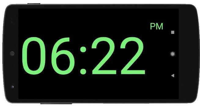 Full Screen Digital Night Clock screenshot 2