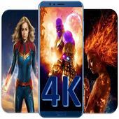 4K Superhero Wallpapers icon