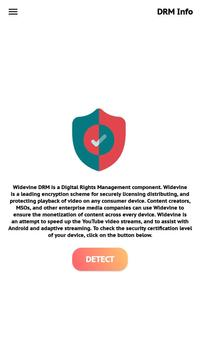 DRM Information poster