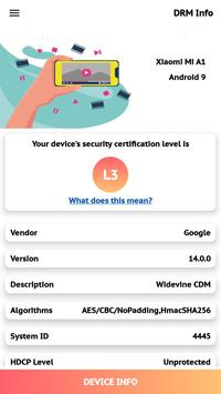 DRM Information screenshot 1