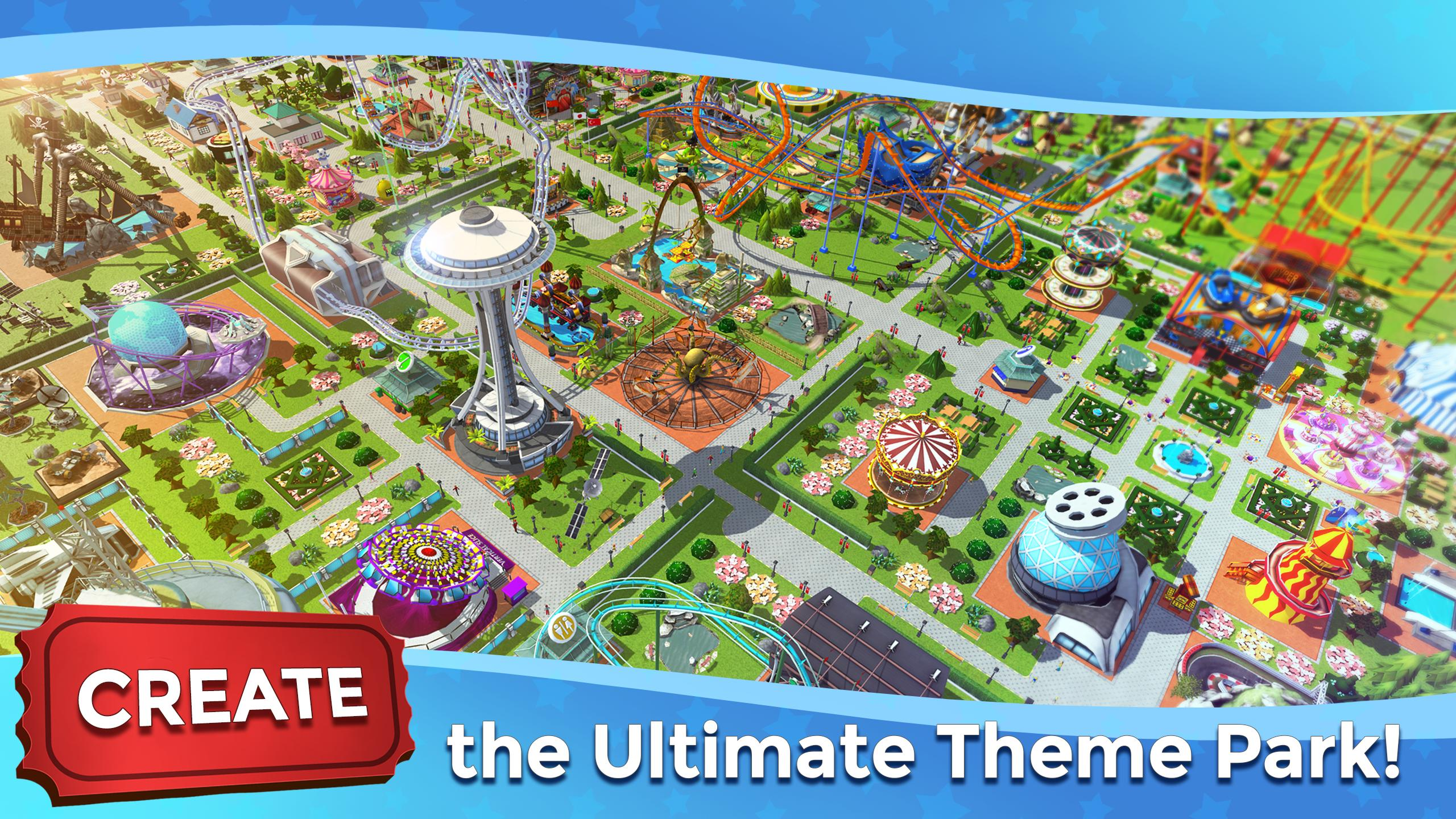 RollerCoaster Tycoon Touch - Build your Theme Park for