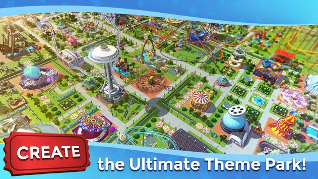 RollerCoaster Tycoon Touch - Build your Theme Park poster