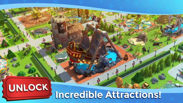 RollerCoaster Tycoon Touch - Build your Theme Park screenshot 10