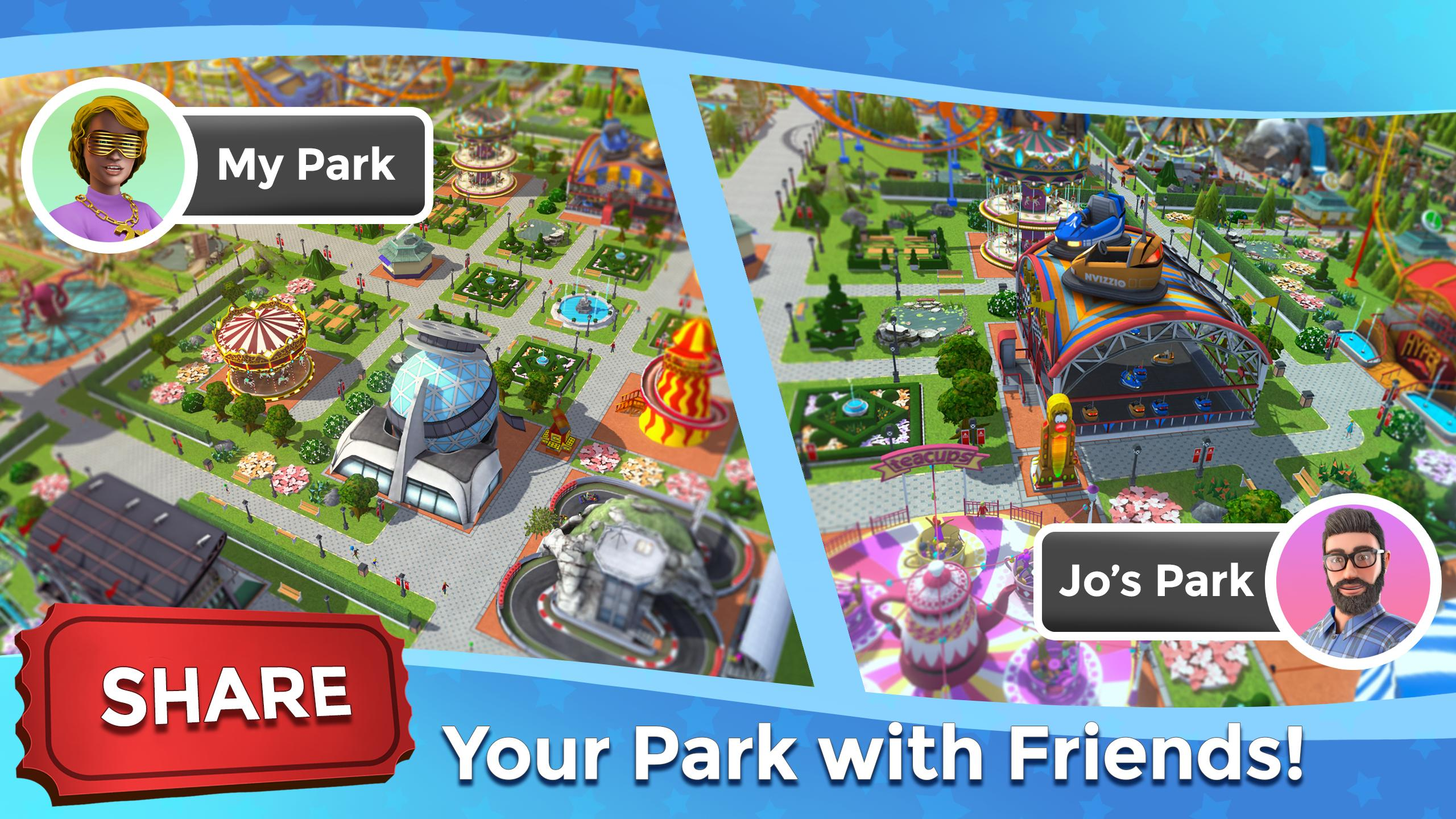 RollerCoaster Tycoon Touch - Build your Theme Park for Android - APK