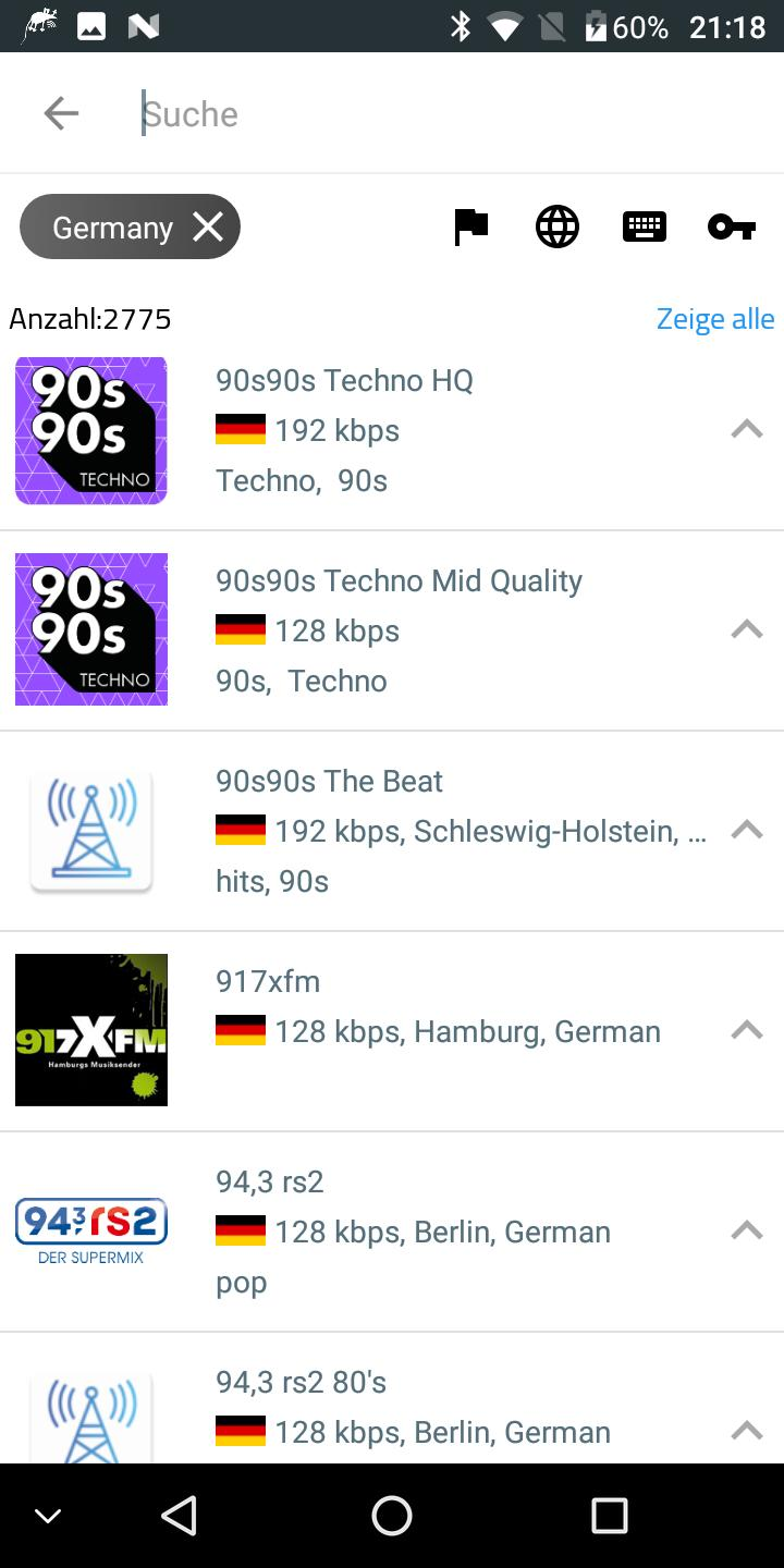 Radio Streaming Mit Aufnahme Deutsch Atherion For Android