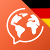 ドイツ語を学ぶ。ドイツ語を話す アイコン