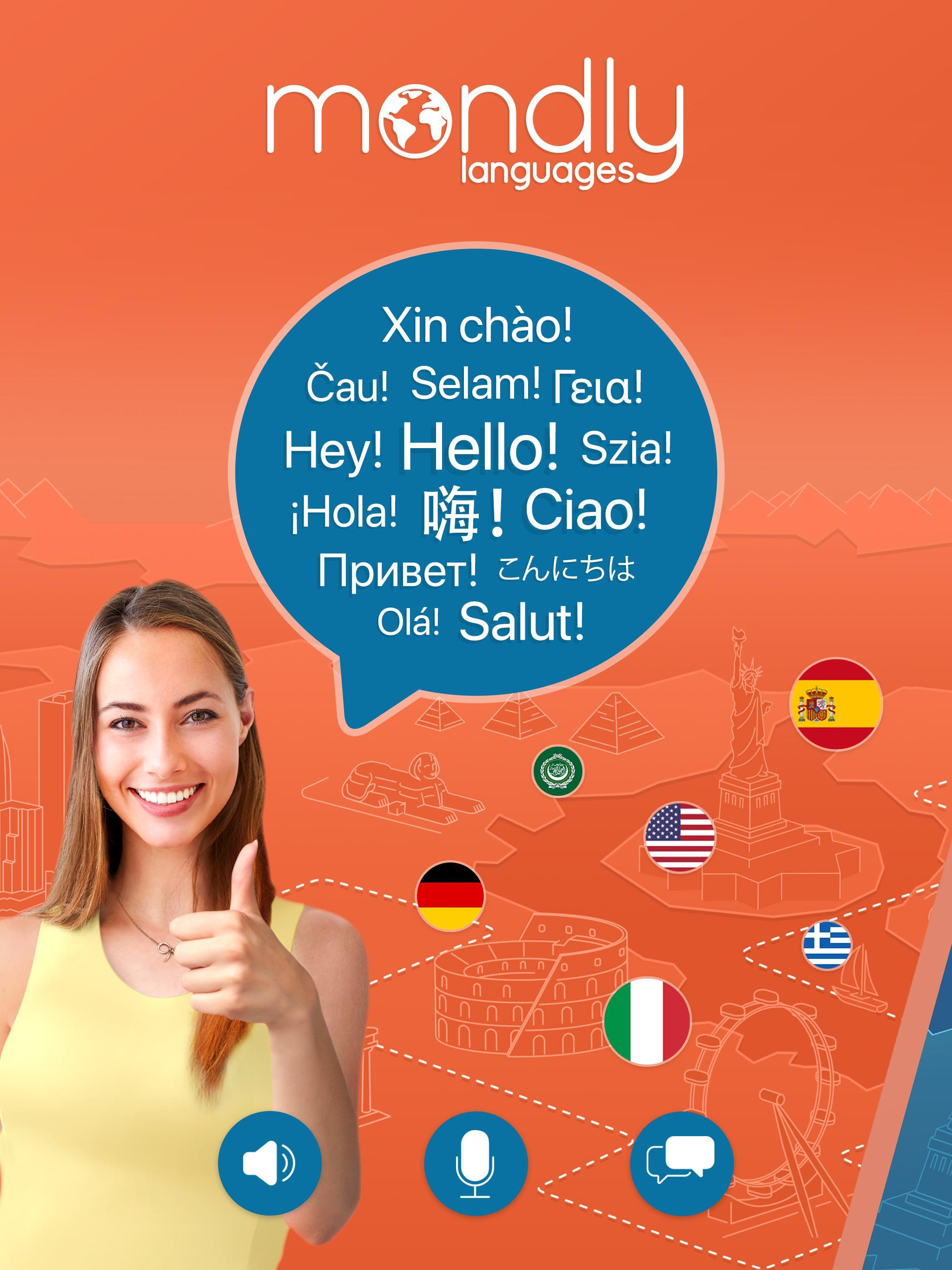 Learn 33 Languages Free - Mondly for Android - APK Download
