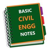 Basic Civil Engineering Books & Lecture Notes أيقونة