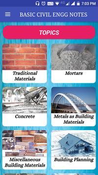 Basic Civil Engineering Books & Lecture Notes تصوير الشاشة 7