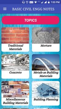 Basic Civil Engineering Books & Lecture Notes الملصق