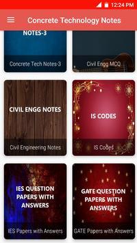 Concrete Technology Notes imagem de tela 3