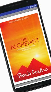 The Alchemist Book by Paulo Coelho poster