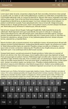 Notepad Free Ekran Görüntüsü 5