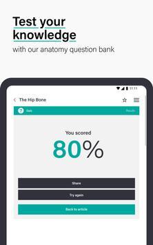 Teach Me Anatomy: 3D Human Body & Clinical Quizzes تصوير الشاشة 22