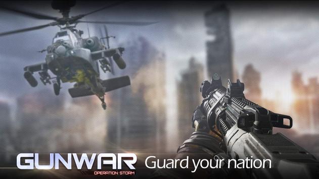 Gun War تصوير الشاشة 1
