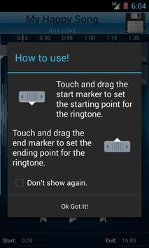 MP3 Cutter and Ringtone Maker♫ ảnh chụp màn hình 1