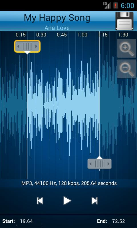 mp3 song cutter and editor online