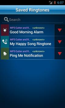 MP3 Cutter and Ringtone Maker♫ ảnh chụp màn hình 5