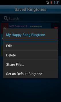 MP3 Cutter and Ringtone Maker♫ ảnh chụp màn hình 6