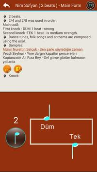 Turkish Music Usûls (Rhythms) screenshot 4