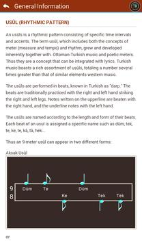 Turkish Music Usûls (Rhythms) screenshot 9
