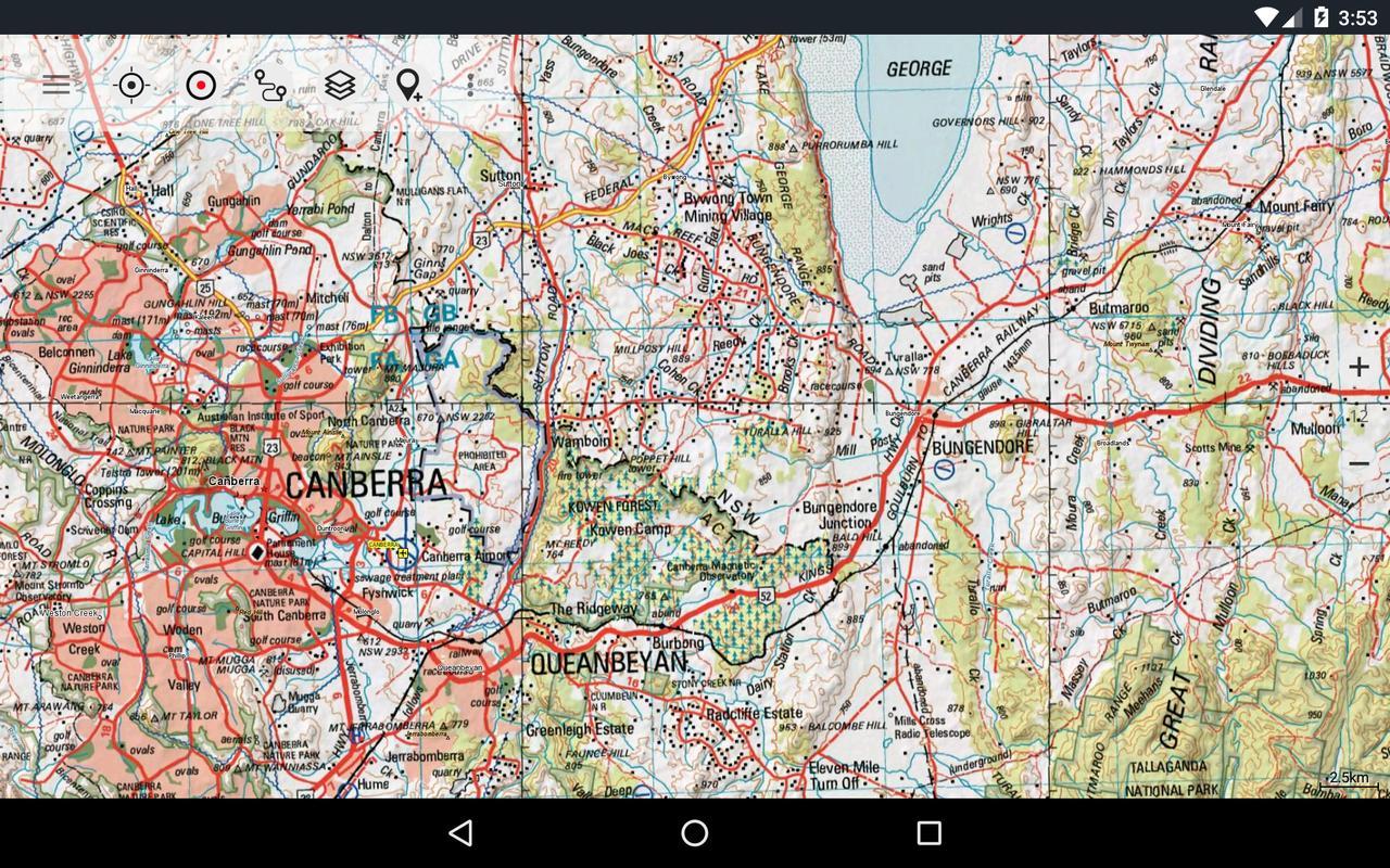 Australia Topo Maps for Android - APK Download